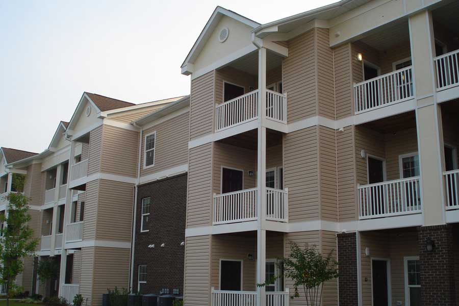The Arbors Multi-family housing KMW Builders