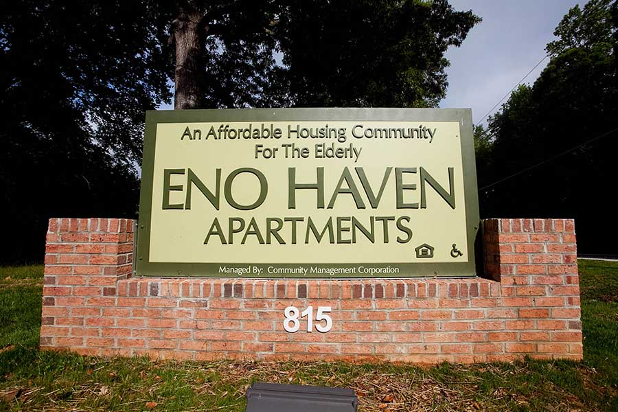 Eno Haven KMW Builders Affordable Housing for the Elderly