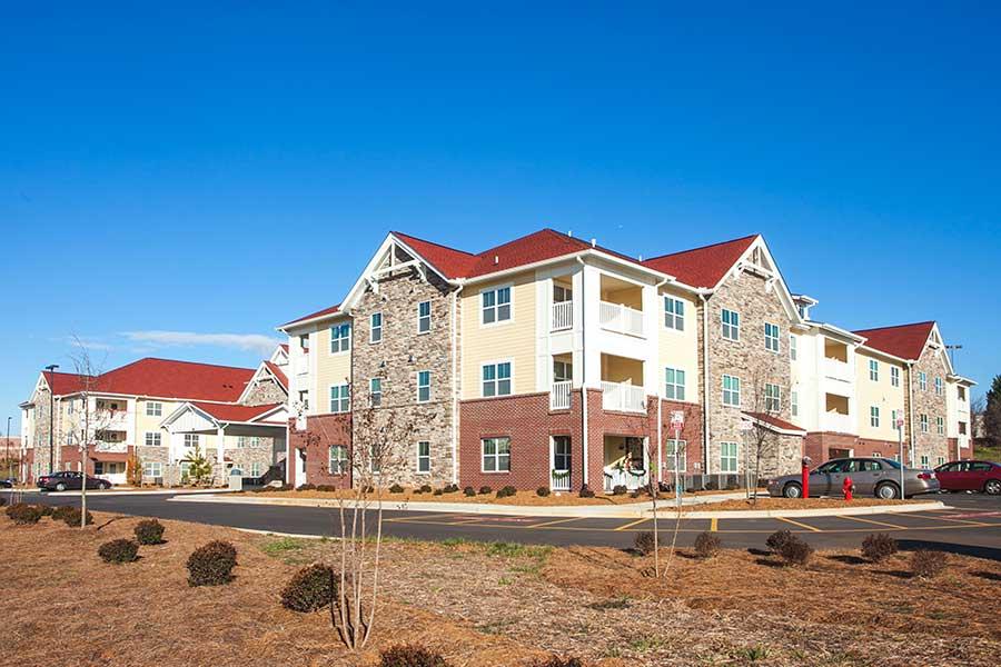 Poplar Crossing Affordable Multi-Family House - KMW Builders
