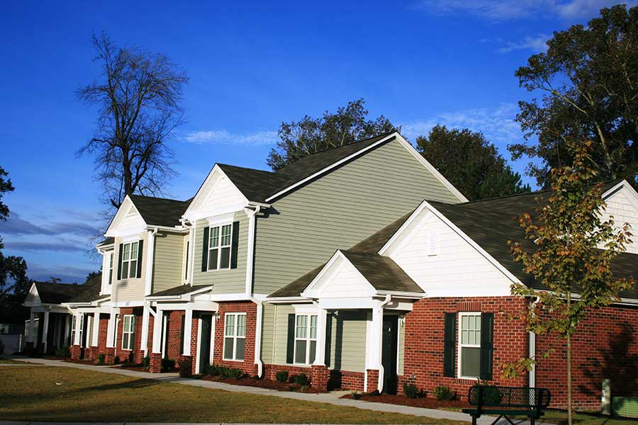Randall Place Affordable Housing KMW Builders