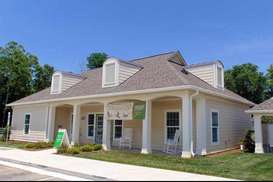 Courtyard Commons Multi-family Housing KMW Builders